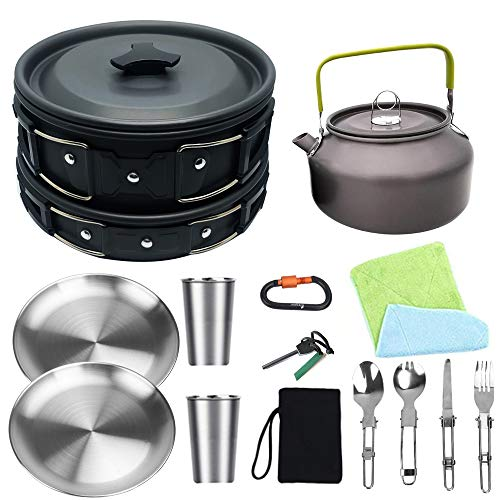 Bisgear Camping Cookware Kettle