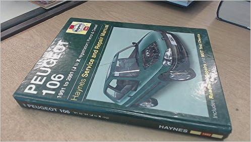 Peugeot 106 repair manual.