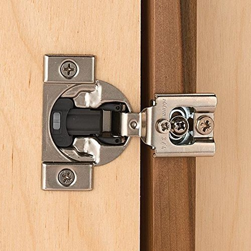 Blum Compact Face Frame Hinge with Blumotion 1/2 Overlay Pair by Blum