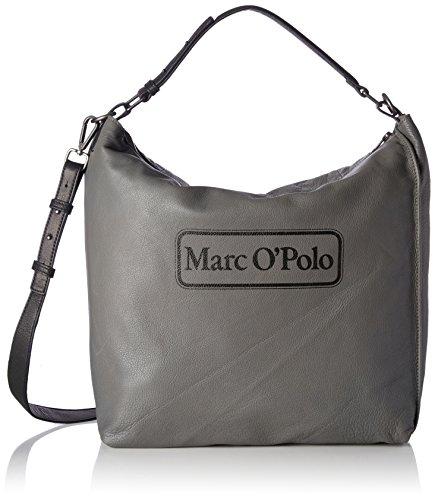 Marc OPolo Retro One, Borse a spalla Donna Grigio (Ferro)