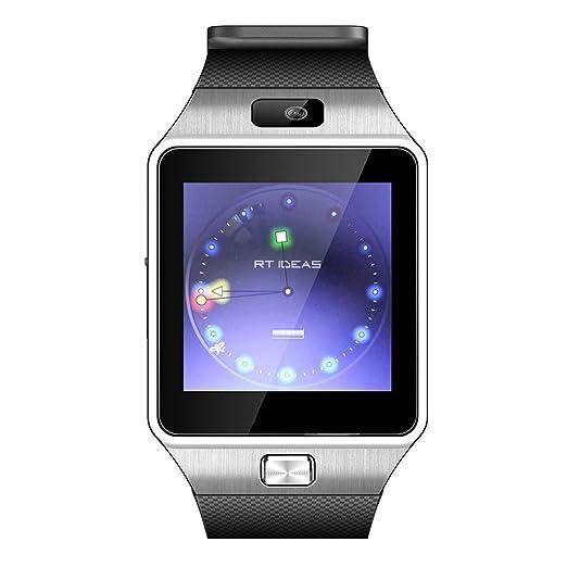 Yanhonin Reloj Inteligente Niño, Smartwatch Niños Reloj Despertador SOS Reloj Digital Cámara Linterna Juegos para