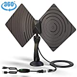 Best off air tv antenna - TV Antenna, Vproof Indoor HDTV Antenna TV Aerial Review