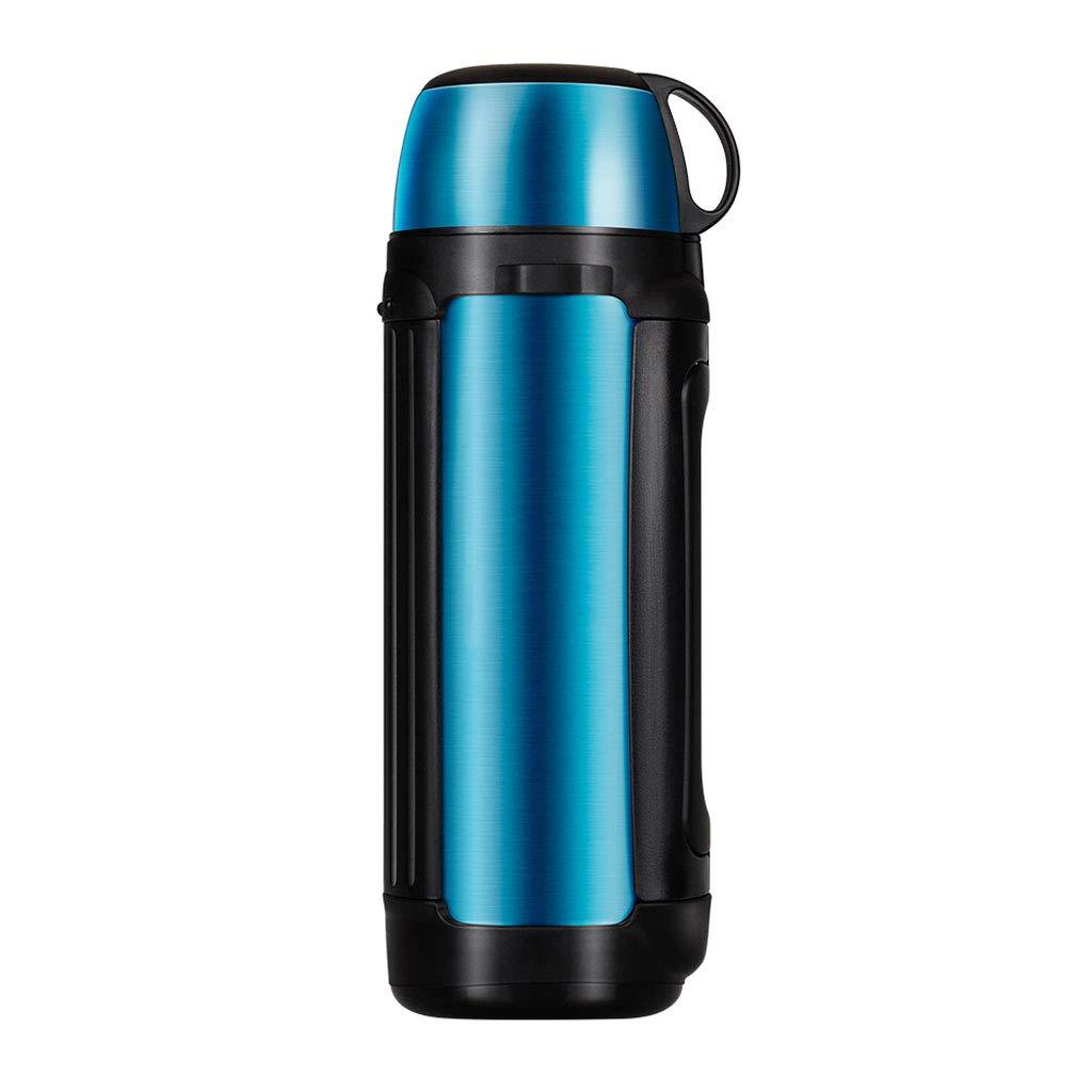 WLHW Trinkflaschen Reise-Isolierungs-Topf, Sport-Becher im Freien 304 Edelstahl-Vakuumthermos große Kapazität 2L