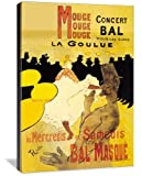Moulin Rouge Concerts - Henri de Toulouse-Lautrec (1864 ? 1901) was a French painter, printmaker, draftsman, and illustrator. The period he created his art was known as the Belle Epoque and his focus was on the decadence in Parisian society. beautifu...