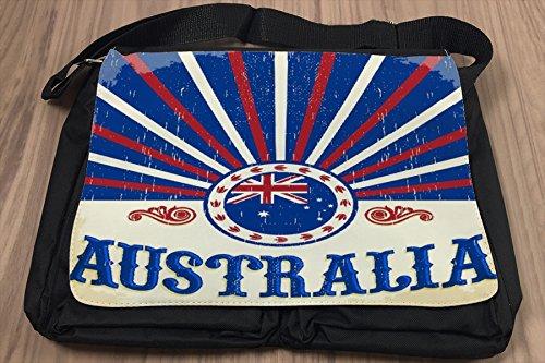 Borsa Tracolla Avventuriero Australia Stampato