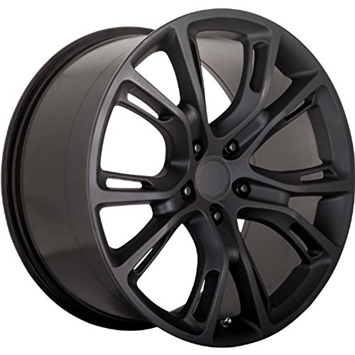 OE Performance 137 20 Matte Black Wheel / Rim 5x5 with a 34mm Offset and a 71.5 Hub Bore. Partnumber 137MB-297334