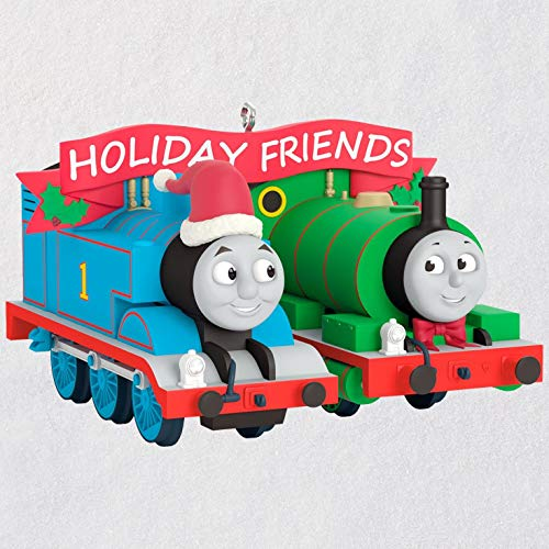 Hallmark Keepsake Christmas Ornament 2018 Year Dated, Thomas and Friends Thomas and -