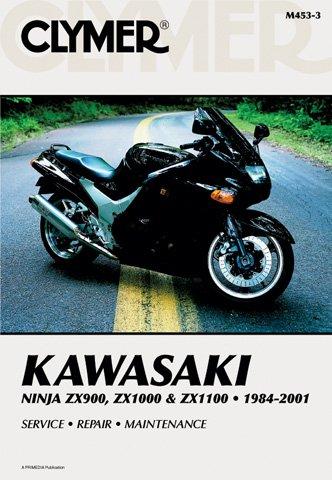 1984-2001 Kawasaki ZX900-1100 Ninja CLYMER MANUAL KAW ZX900-1100 NINJA 84-01, Manufacturer: CLYMER, Manufacturer Part Number: M4533-AD, Stock Photo - ...