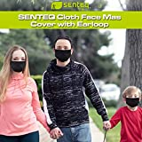 Adult Reusable Face Mask - Washable Black Masks