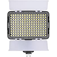 Neewer® OE-160C 160 Pieces 3200-5600K Dimmable LED Barndoor On Camera Video Light for Canon,Nikon,Pentax,Panasonic,SONY,Samsung,Olympus and Other Digital SLR Cameras