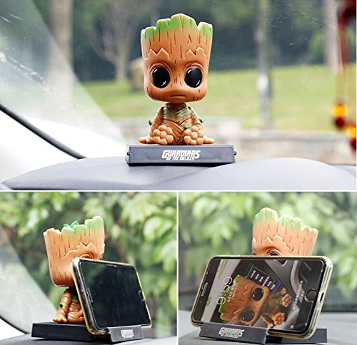 Guardians Of The Galaxy Groot Shaking Head Car Decoration Toy Doll Gift