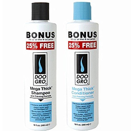 Doo Gro Anti-thinning Mega Thick Shampoo & Conditioner Set - 10fl (Do Gro Shampoo)