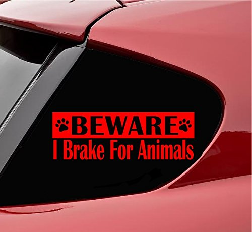 2019人気の Beware I B0798T5CHK I Beware Break for動物ビニールデカールステッカー(レッド) B0798T5CHK, ゴールドエコ:f504954b --- a0267596.xsph.ru