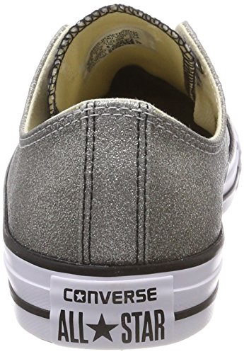 Mixte Silber Ctas Converse Gris black 095 Baskets Grey Adulte white ash Ox wdtCqCX