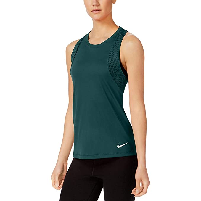 Nike Womens Fitness Yoga Tank Top Green XL at Amazon Womens ...