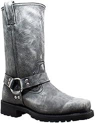 RideTecs 13 Stonewash Harness Mens Boot