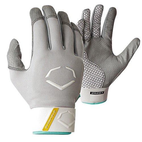 EvoShield Fastpitch Protective Women Batting Gloves - Grey - Large