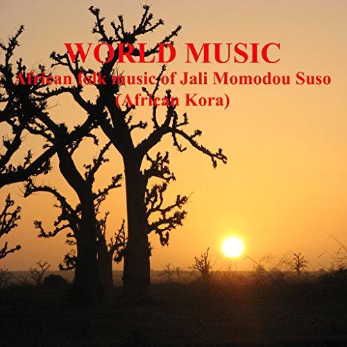 folk music of Jali Momodou Suso. African Kora. (African Folk Music)