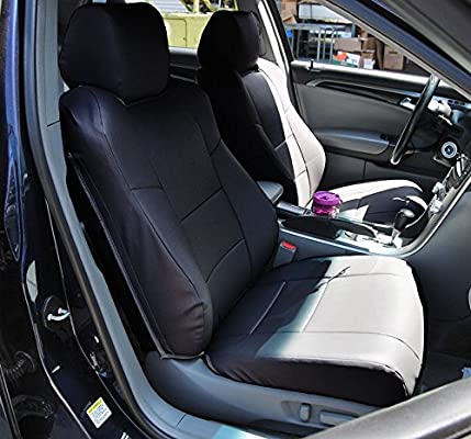 Amazoncom ACURA TL Not TypeS BLACK Artificial Leather - 2004 acura tl seat covers
