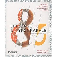 LETTRAGE ET TYPOGRAPHIE