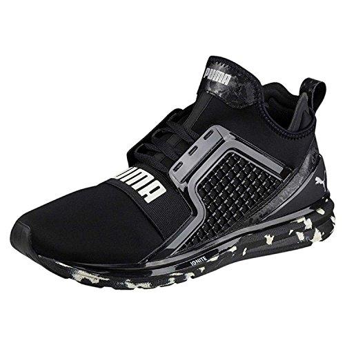 Puma Scarpe Sneaker Ignite Remolino Ilimitado Uomo Nero 19035302-blk