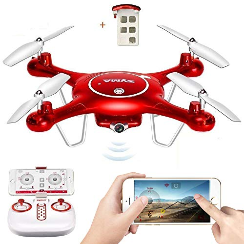 2.4G WiFi FPV RC Quadcopter Remote Control HD Camera Drone Fit for Syma X5UW