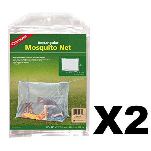Coghlans Mosquito Net Single, White (32