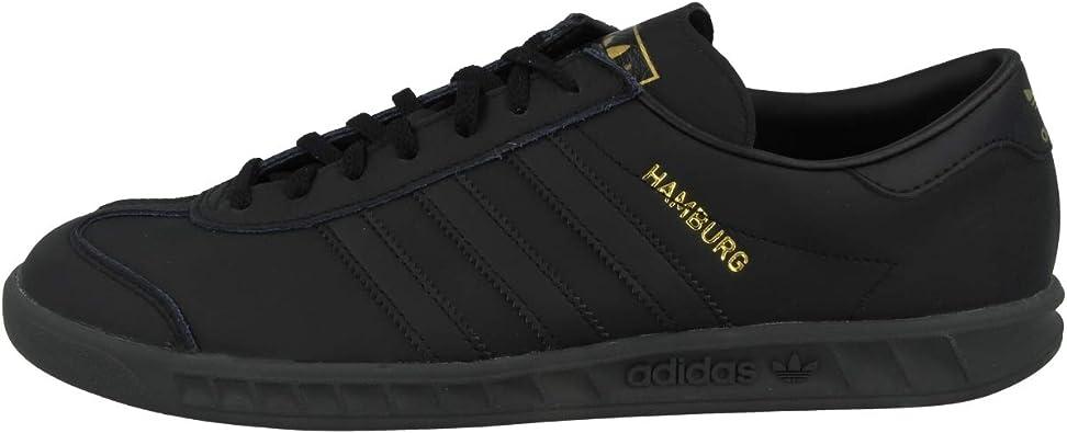 Amazon.com   adidas Originals Hamburg US 8.5 Blk/Blk   Shoes