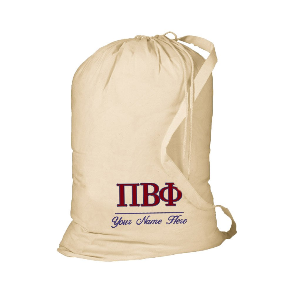 Personalized Natural Laundry Bags