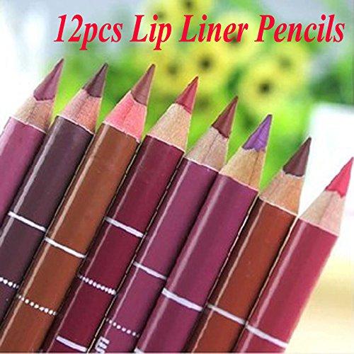 Lip Liner Lime Crime Velvetines Brown Lip Liner 12Pcs/set Brand New Women's Professional Lipliner Waterproof Lip Liner Pencil 15CM 12 Colors Huda Beauty Liquid Matte generic