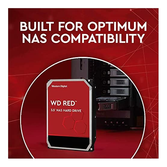 "WD Red 14TB NAS Internal Hard Drive - 5400 RPM Class, SATA 6 Gb/s, CMR, 512 MB Cache, 3.5"" - WD140EFFX"