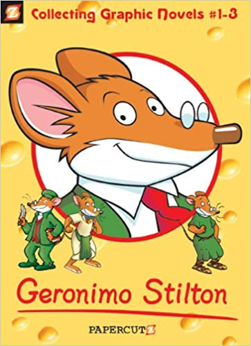 Geronimo Stilton Boxed Set Vol. #1-3 Geronimo Stilton Graphic ...