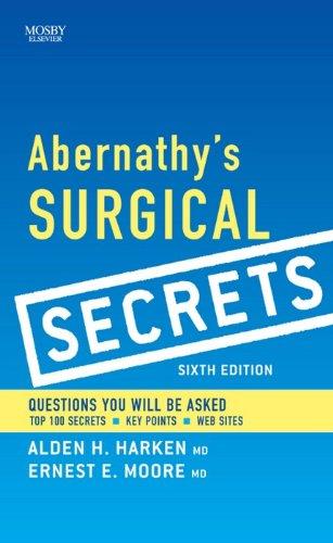 Abernathy's Surgical Secrets Pdf