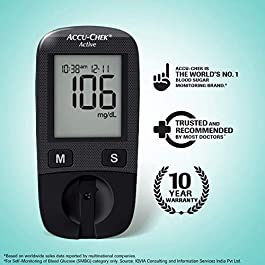 Accu-Chek Active Blood Glucose Meter Kit,...