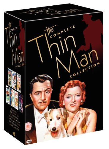 The Complete Thin Man Collection (The Thin Man / After the Thin Man / Another Thin Man / Shadow of the Thin Man / The Thin Man Goes Home / Song of the Thin Man / Alias Nick and Nora) by Warner Brothers