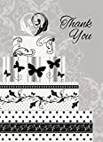 Victorian Wedding Thank You Note Cards, 8ct
