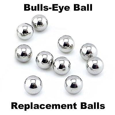 Tiger/Hasbro Bulls-Eye Ball 10 Replacement Steel Balls: Industrial & Scientific