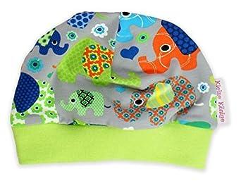 Kleine Könige Baby Mütze Kinder Jersey Beanie Elefantenparty