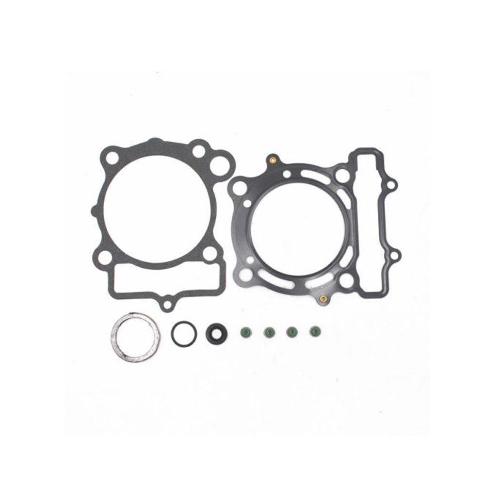 Top End Head Gasket Kit Fits KAWASAKI KX250F 2004 2005 Suzuki RMZ250 2004-2006 Replacement