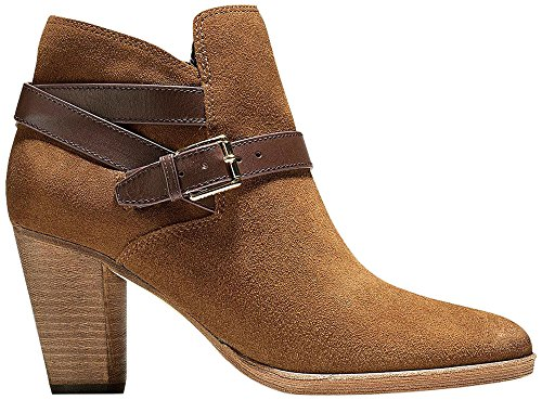 Cole Haan Femmes Hayes Sangle Bootie Bottines Olive Daim