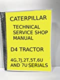 CAT D4 DOZER Technical Service Shop Manual Crawler Tractor BullDozer Caterpillar