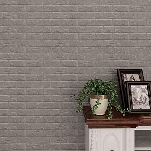 Vinilos pared Lindo Pegatinas de pared Ronamick Espuma de PE Papel tapiz 3D Pegatinas de pared DIY Decoración de pared…