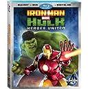 Iron Man and Hulk: Heroes United (Blu-ray + DVD + Digital Copy)