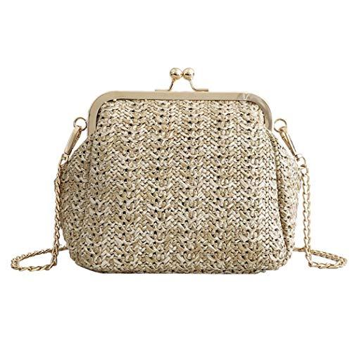Straw Clutch Bag Handwoven...