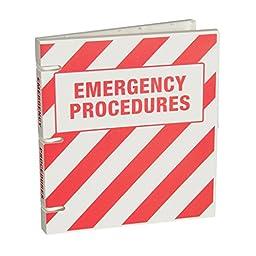 Emergency Procedures Binder - 1.0 Inch