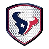 NFL Houston Texans Team Shield Automobile Reflector