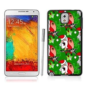 Cartoon Santa Claus Pattern Plastic Back Case for Samsung Galaxy NOTE3 N9000 Case Cover AR257715
