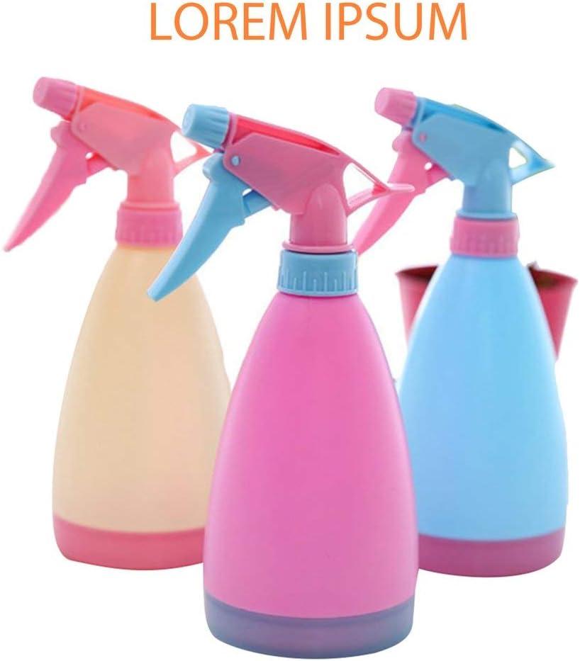 DGdolph Pulverizador de Botella de Agua Ovalada vacía de plástico 1 Pieza para Plantas domésticas Bomba de riego Simple Latas de Agua Color Aleatorio (Color de Caramelo Aleatorio Color de Caramelo)