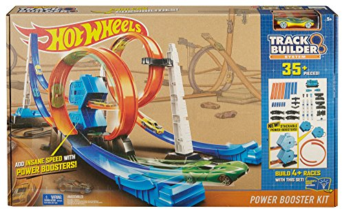 Mattel Hot Wheels Track Builder Dual Booster Race Amazon Com Mx