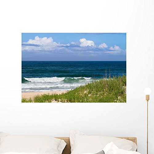 Wallmonkeys Day Beach Wall Mural Peel And Stick Graphic  36 In W X 24 In H  Wm361773